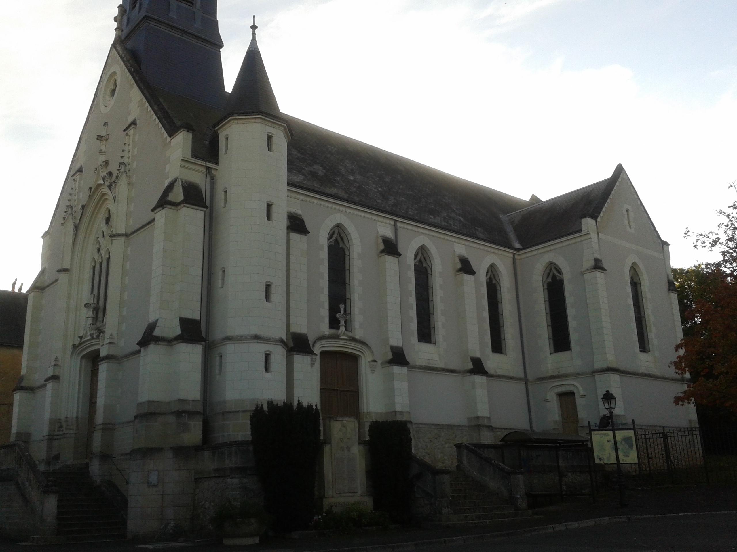 Eglise saint martin beaumont la ronce saint martin de tours for Garage beaumont la ronce