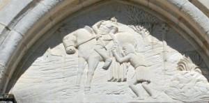 Bas relief Camoel