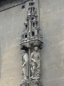 Statue Eglise St-Martin, Aigle